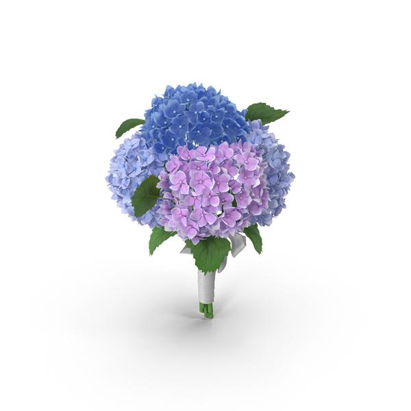 Hydrangea Bouquet PNG & PSD Images
