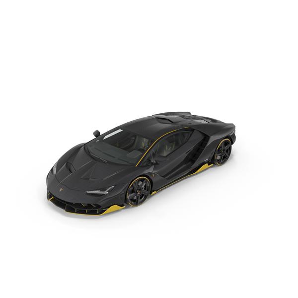 Hypercar Lamborghini Centenario 2017 PNG & PSD Images