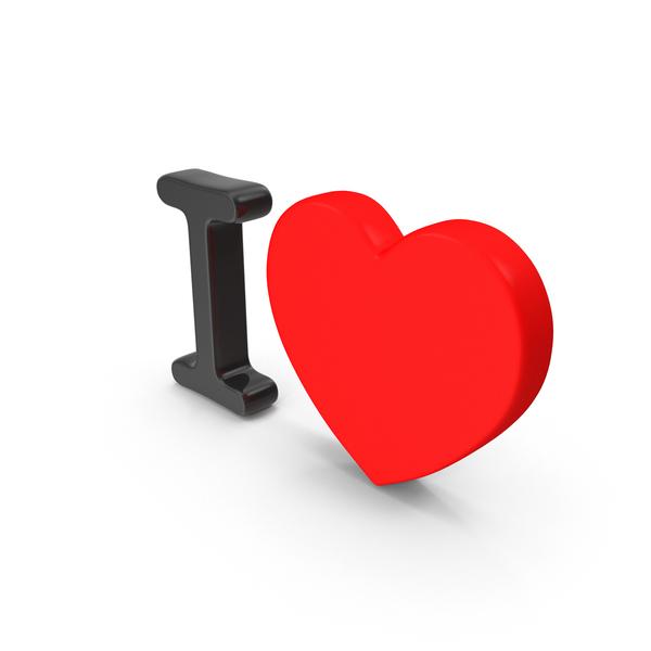 I Heart Icon Object