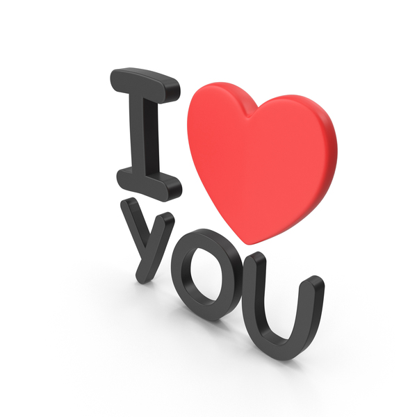 I Love You PNG & PSD Images