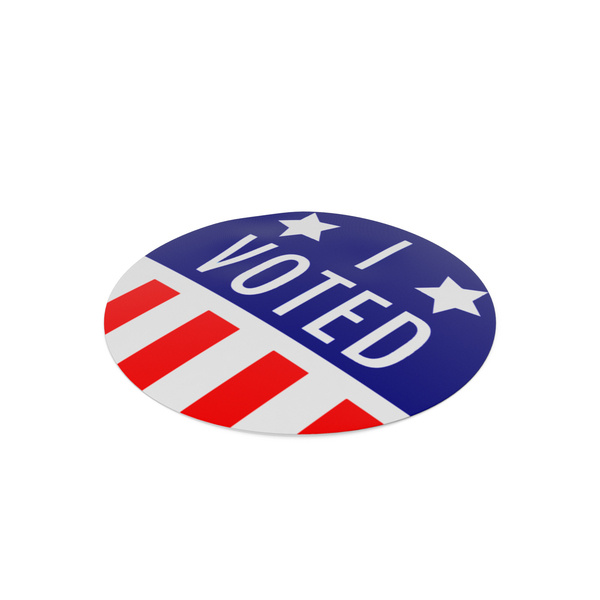 """I Voted"" Sticker PNG & PSD Images"