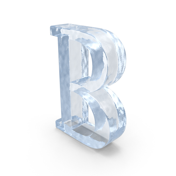 Language: ICE Capital Letter B PNG & PSD Images