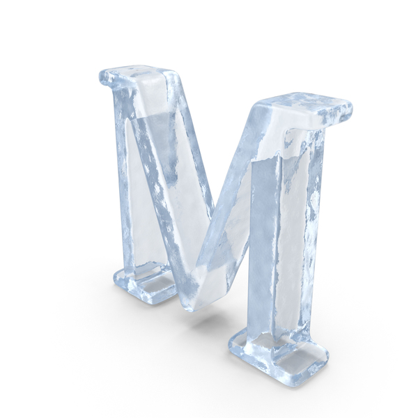 Roman Alphabet: ICE Capital Letter M PNG & PSD Images
