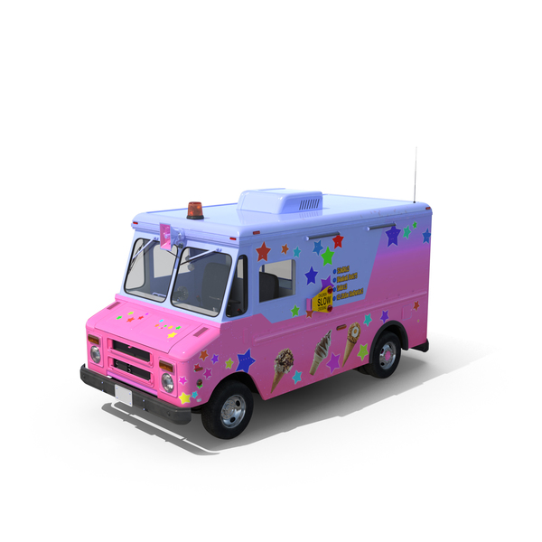 Ice Cream Van Object