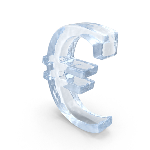 Ice Euro Symbol PNG & PSD Images