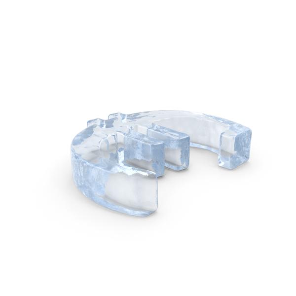 Ice Euro Symbol Object