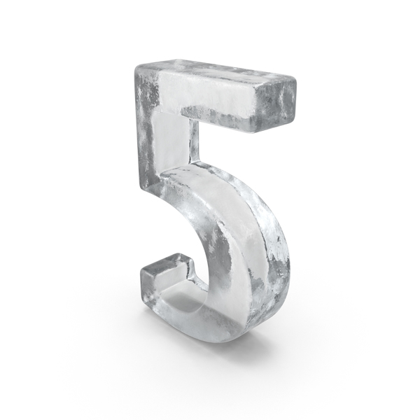 Ice Number 5 PNG & PSD Images