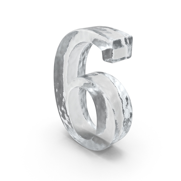Ice Number 6 PNG & PSD Images