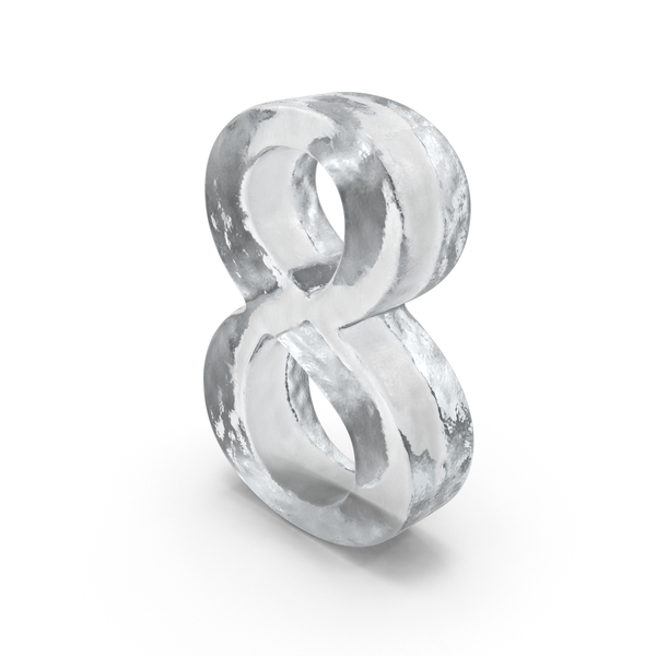 Ice Number 8 PNG & PSD Images