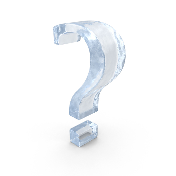 Ice Question Mark PNG & PSD Images