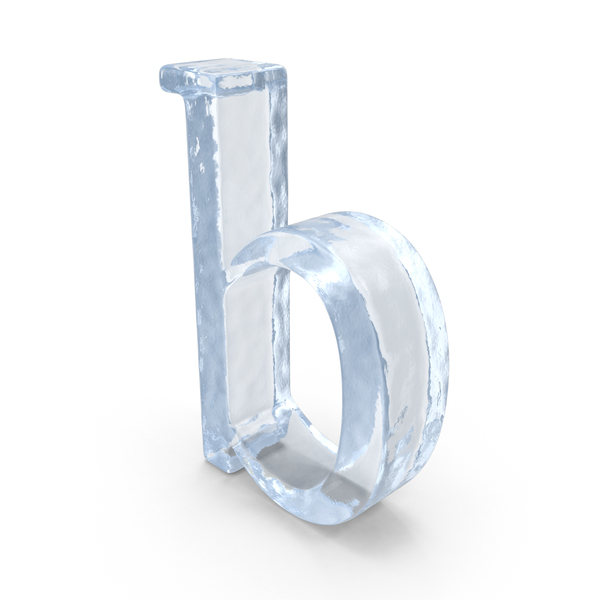 Language: ICE Small Letter b PNG & PSD Images
