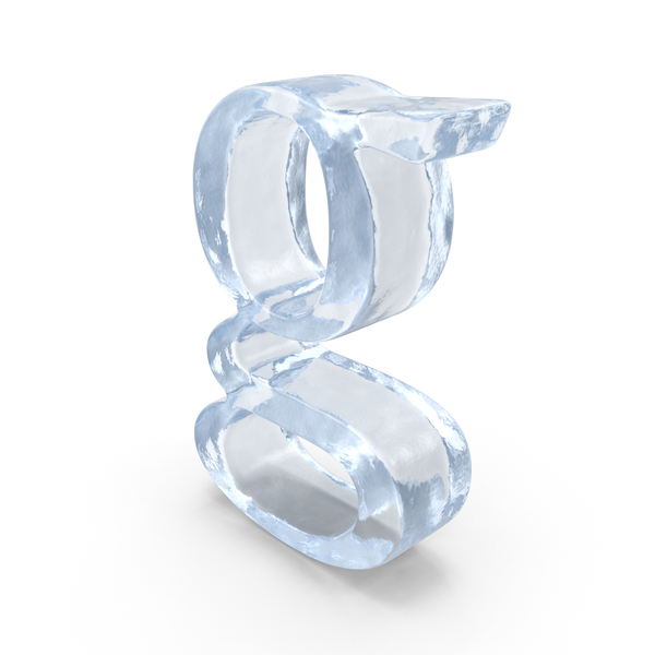Ice Small Letter G PNG & PSD Images