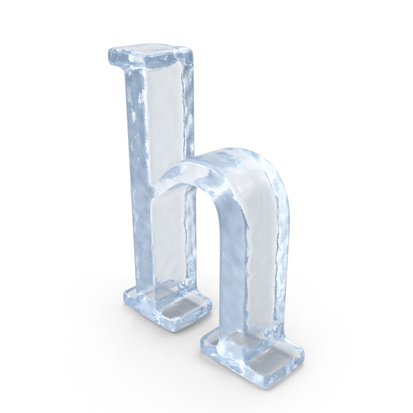 Ice Small Letter h PNG & PSD Images