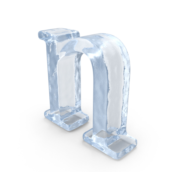 Ice Small Letter N Object