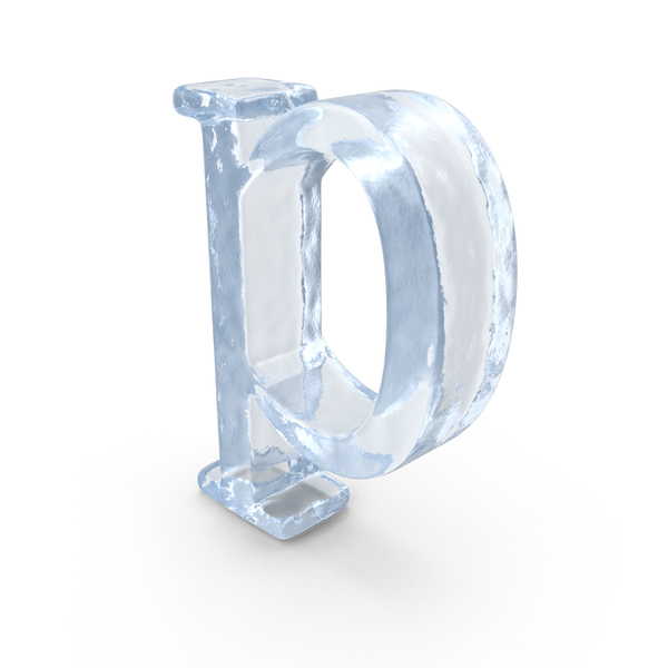 Ice Small Letter p PNG & PSD Images
