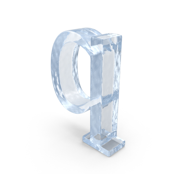 Ice Small Letter Q Object