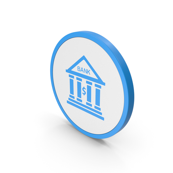 Computer: Icon Bank Blue PNG & PSD Images