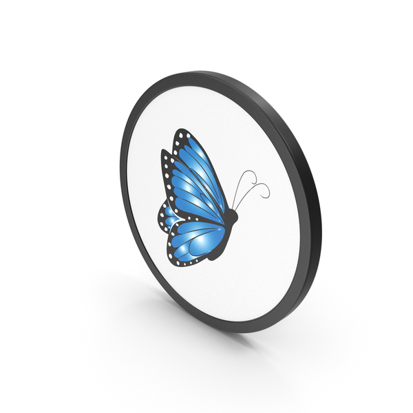 Computer: Icon Butterfly PNG & PSD Images