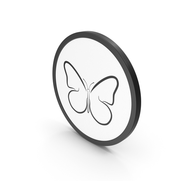Swallowtail: Icon Butterfly PNG & PSD Images