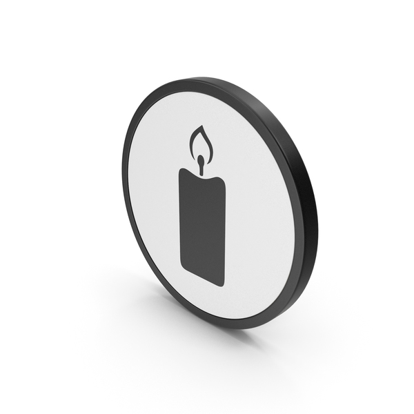 Computer: Icon Candle PNG & PSD Images