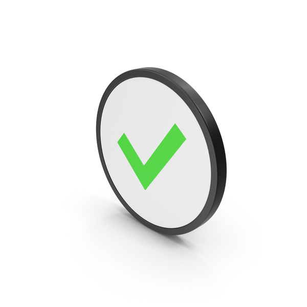 Icon Check Mark Green PNG & PSD Images