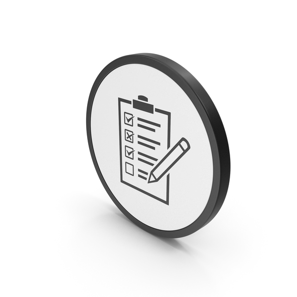 Industrial Equipment: Icon Checklist PNG & PSD Images
