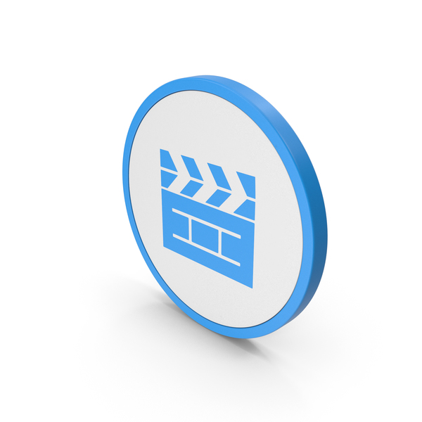 Computer: Icon Cinema Movie Blue PNG & PSD Images