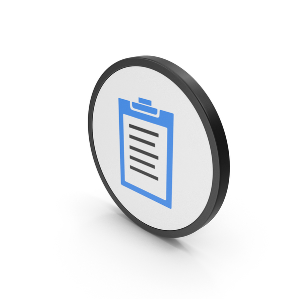 Logo: Icon Clipboard Blue PNG & PSD Images