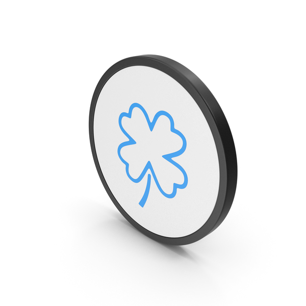 Icon Clover Blue PNG & PSD Images
