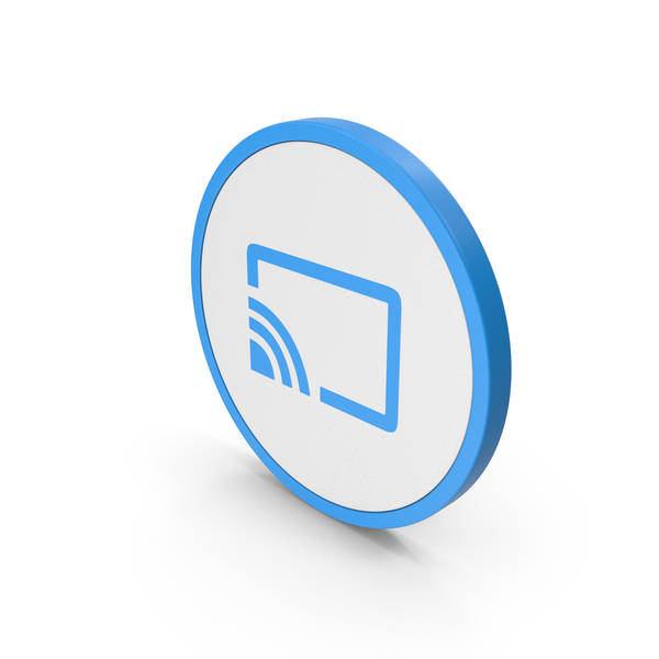 Computer: Icon Connect To TV Blue PNG & PSD Images