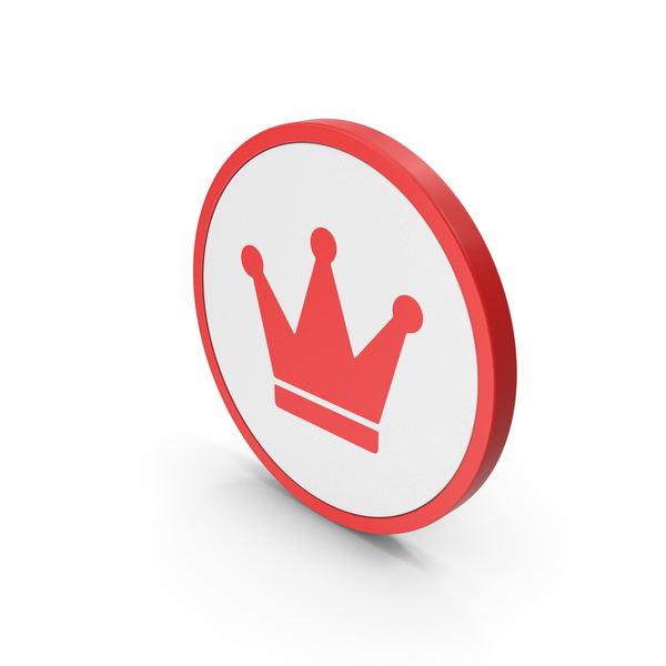 Symbols: Icon Crown Red PNG & PSD Images