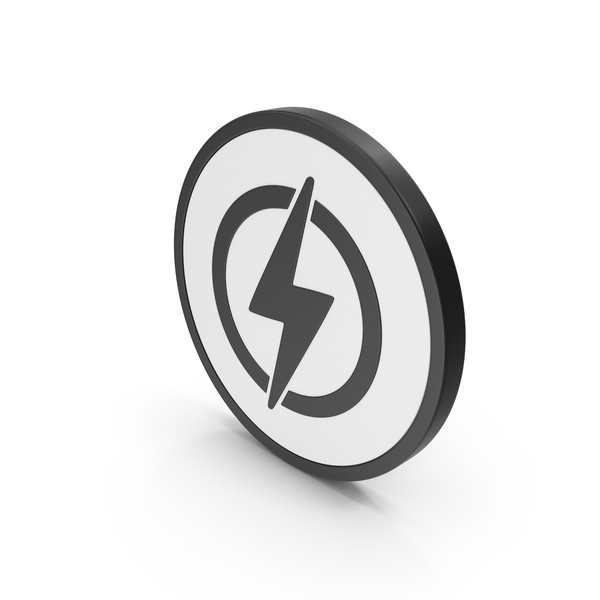 Computer: Icon Electricity PNG & PSD Images