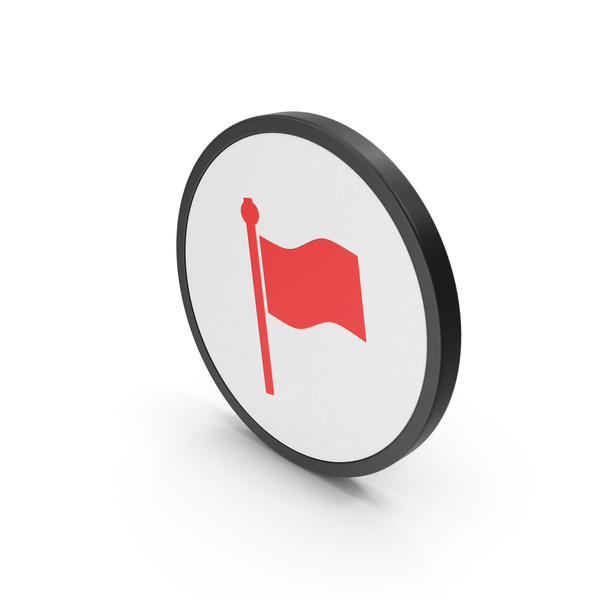 Logo: Icon Flag Red PNG & PSD Images