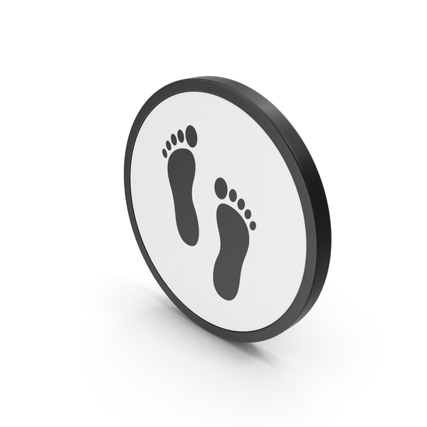 Computer: Icon Footprint PNG & PSD Images