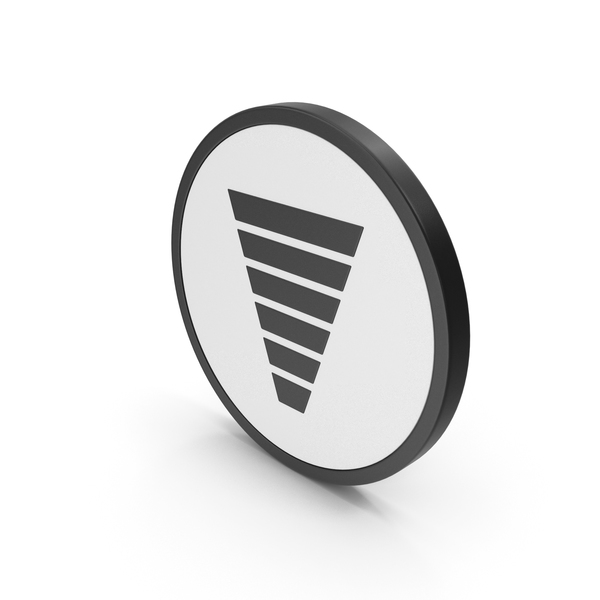 Symbols: Icon Funnel Chart PNG & PSD Images