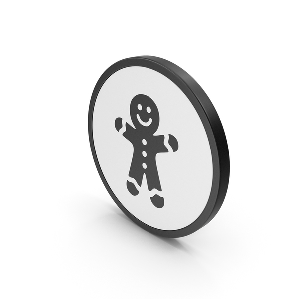 Icon Gingerbread Man PNG & PSD Images