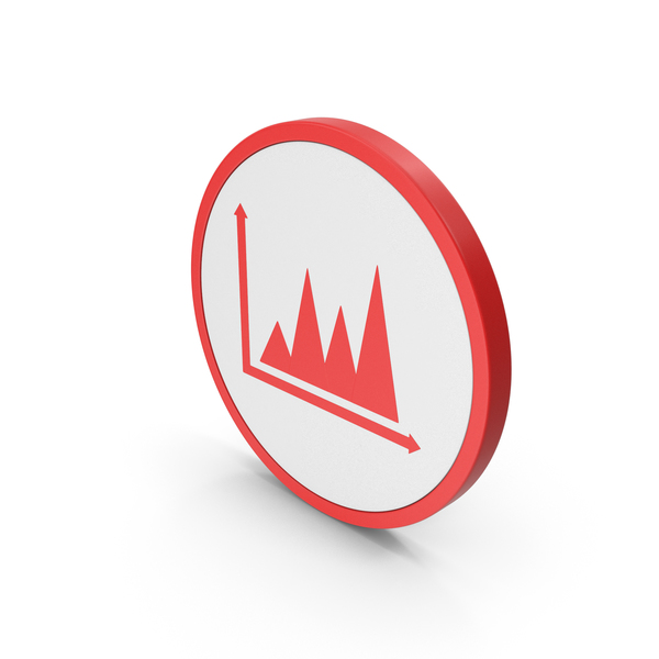 Pie: Icon Graph Chart Red PNG & PSD Images