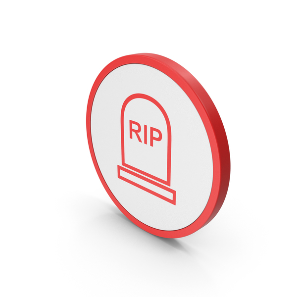 Cross: Icon Grave Rip Red PNG & PSD Images
