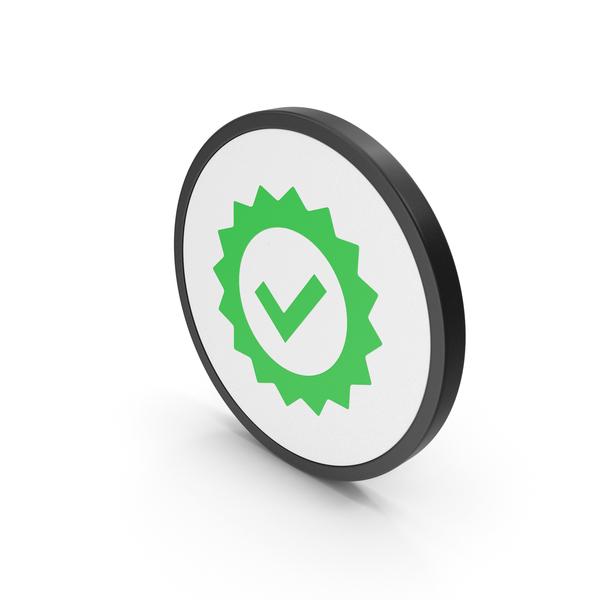 Logo: Icon Guarantee Green PNG & PSD Images