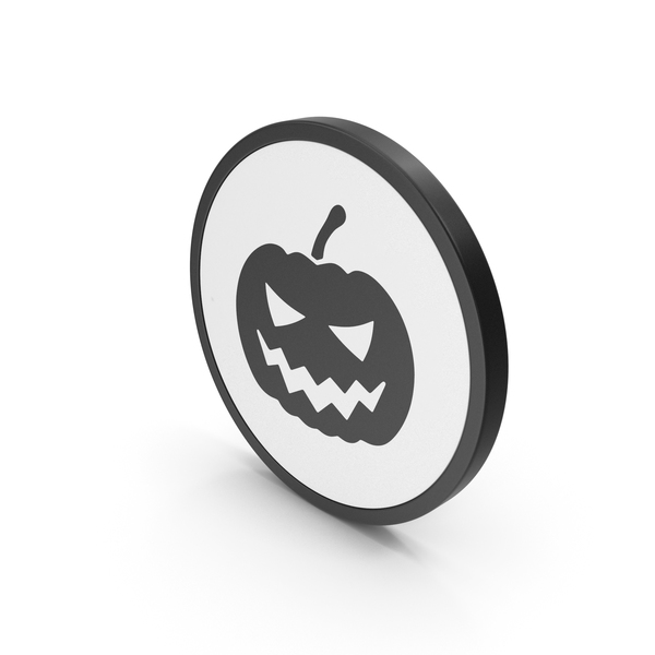 Symbols: Icon Halloween Pumpkin PNG & PSD Images