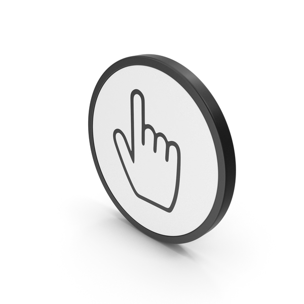 Icon Hand Cursor PNG & PSD Images