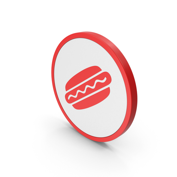 Computer: Icon Hot Dog Red PNG & PSD Images