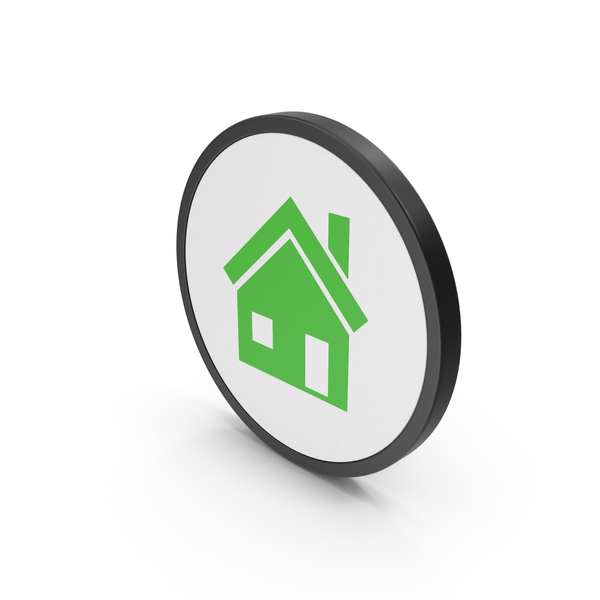 Logo: Icon House Green PNG & PSD Images