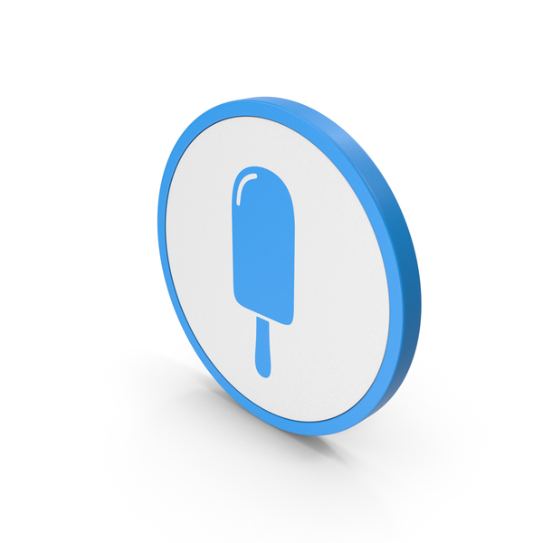 Computer: Icon Ice Cream Blue PNG & PSD Images