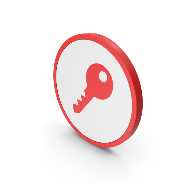 Computer: Icon Key Red PNG & PSD Images