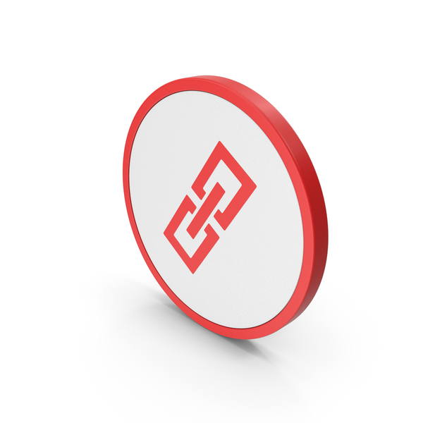 Icon Link Chain Red PNG & PSD Images