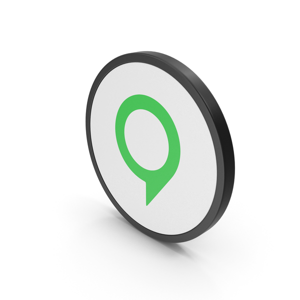 Icon Map Pin Green PNG & PSD Images