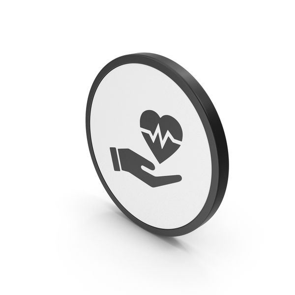 Shape: Icon Medical Heart In Hand PNG & PSD Images
