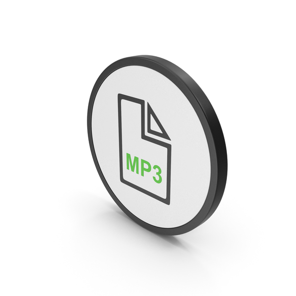 Computer: Icon MP3 File Green PNG & PSD Images