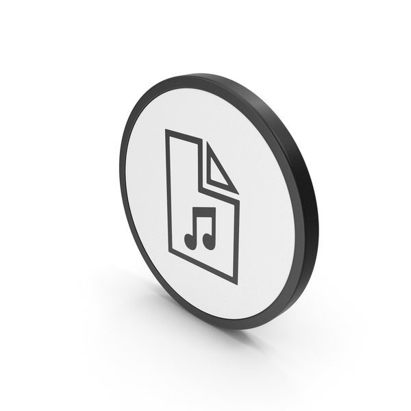 Computer: Icon Music File PNG & PSD Images